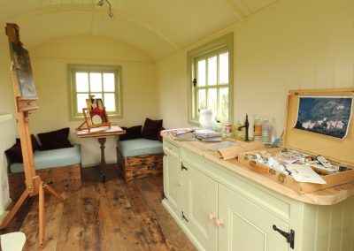Artist's studio hut 2