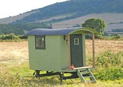 Baby shepherd hut. Roundhill 31