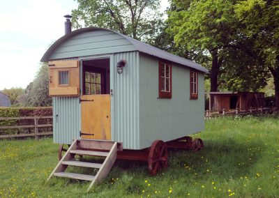 Hampshire Shepherd hut Roundhill 23