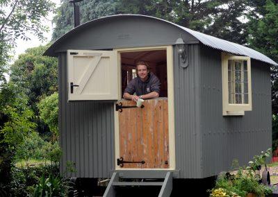Office shepherd hut 1