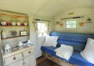 Riverbank hut