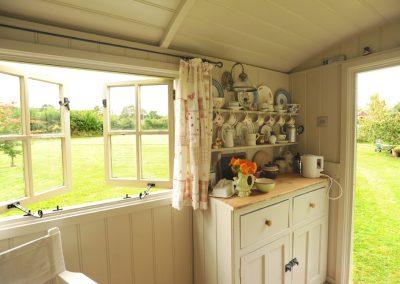 Roundhill Shepherd Hut interior 2