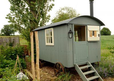 Roundhill Shepherd hut 21