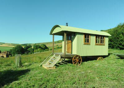 Roundhill Shepherd hut 4