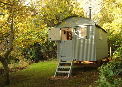 Roundhill Shepherd huts 1