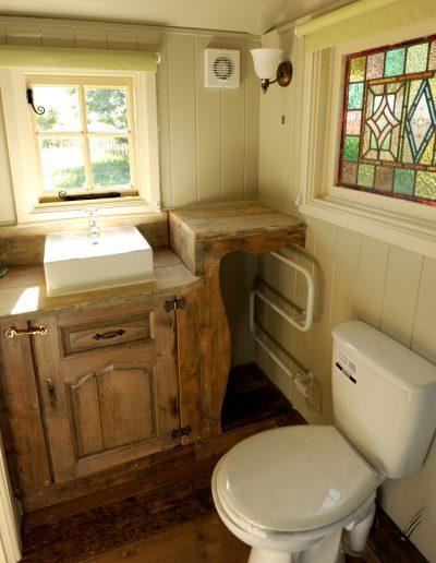 Rustic shower room 1