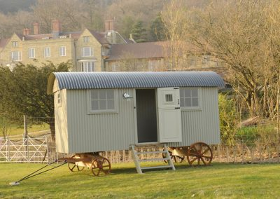 Sussex downs shepherd hut Roundhill 21