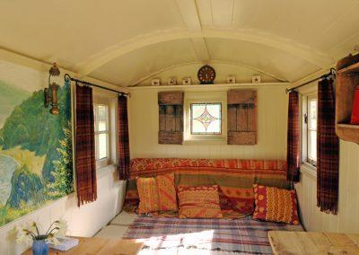Traditional shepherd hut. Roundhill 22