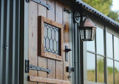 York-Shepherd-hut-stable-door-and-lantern